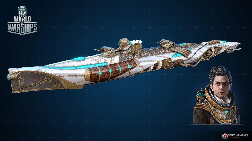 Подводные лодки в World of Warships?