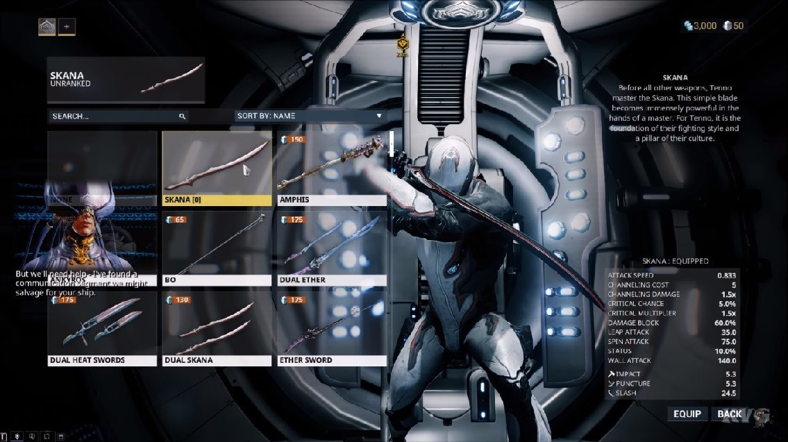 gameplay Warframe 2