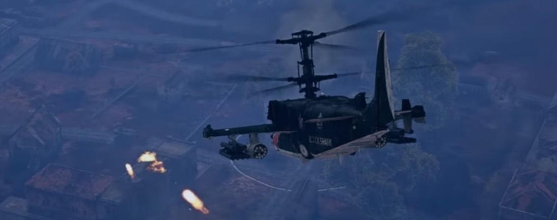 вертолёты в War Thunder.