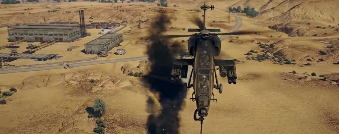 вертолёты в вартандер.