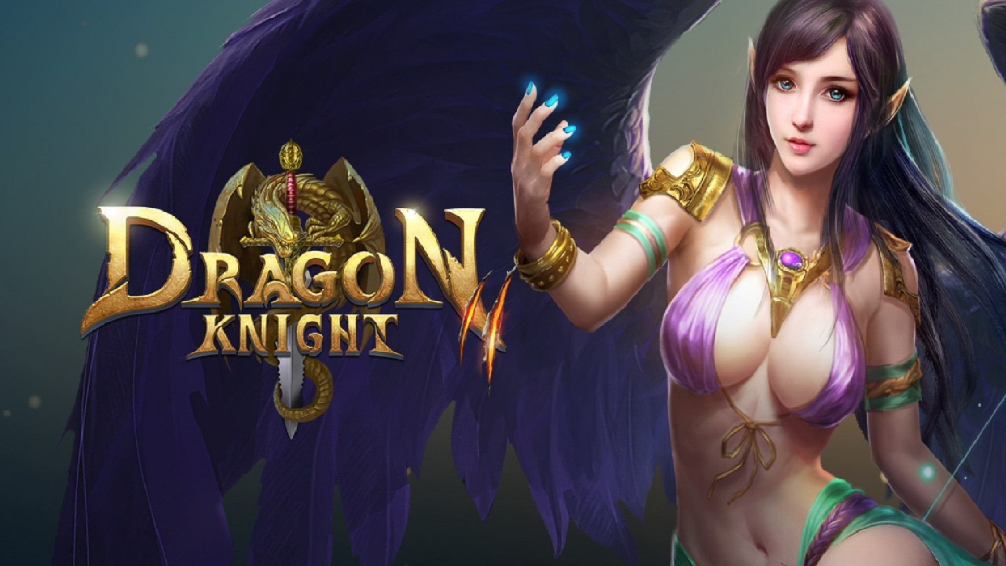 Играть Dragon Knight 2 онлайн в бразуере