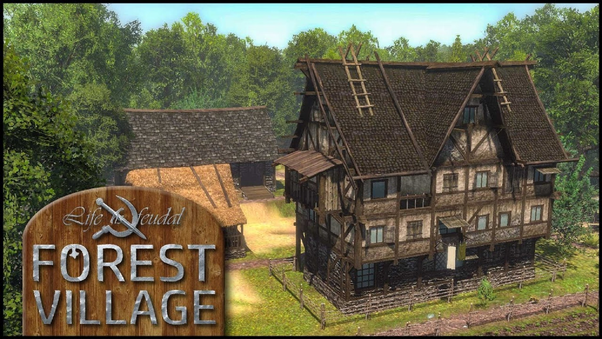Играть Life is Feudal Forest Village онлайн