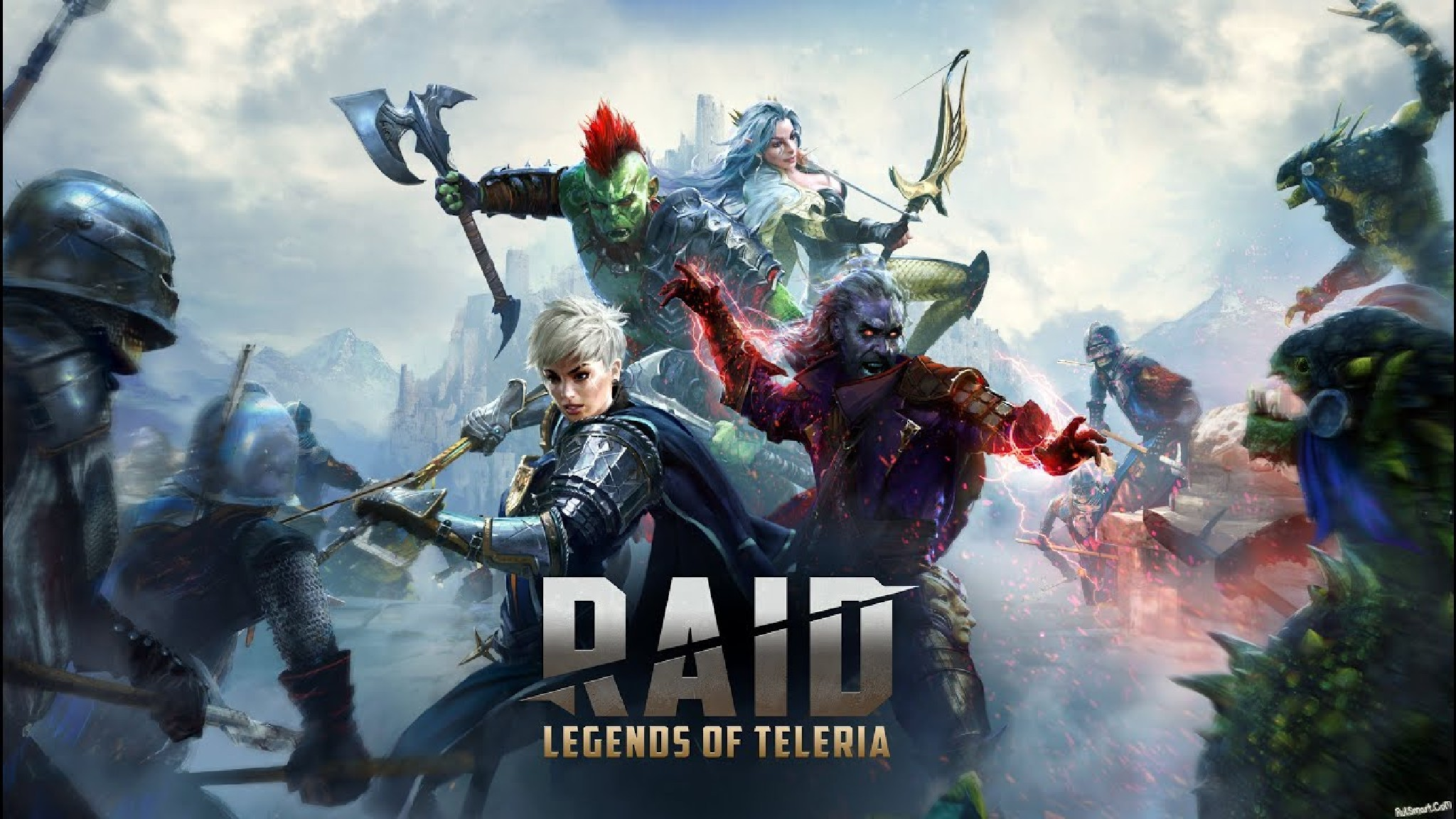 Играть Raid Shadow Legends онлайн