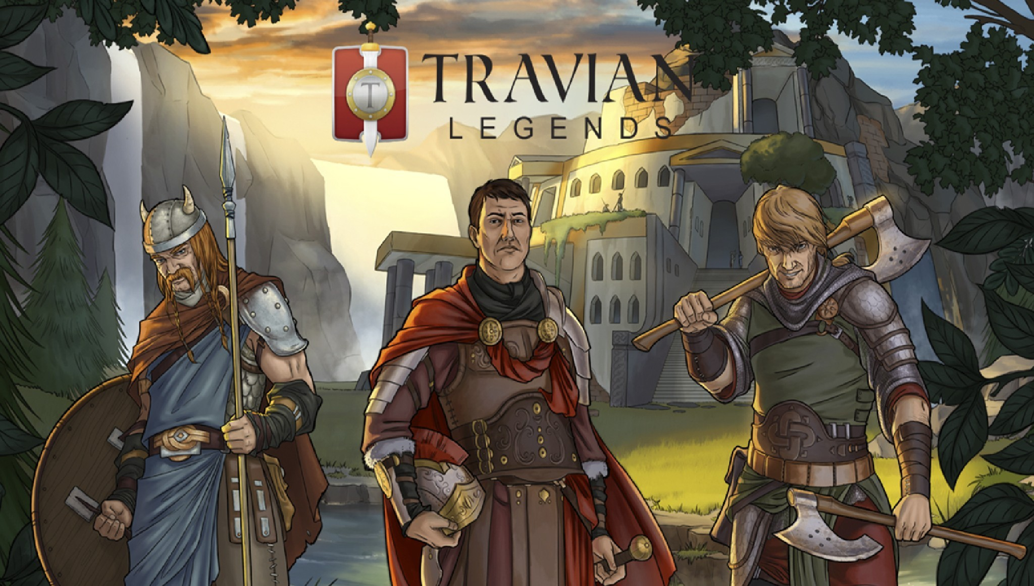 Играть Travian Legends онлайн в браузере