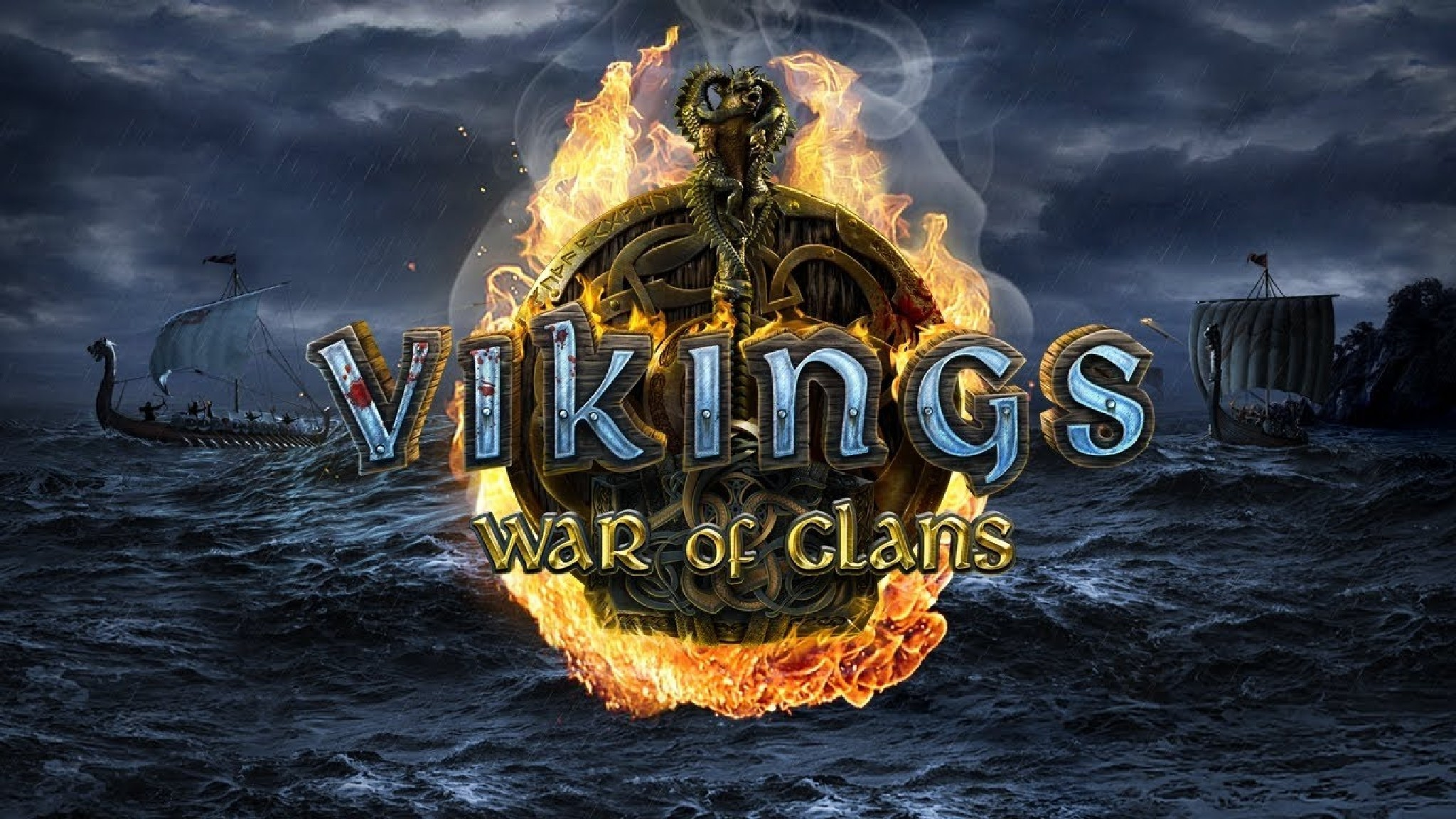 Играть Vikings War of Clans в браузере онлайн