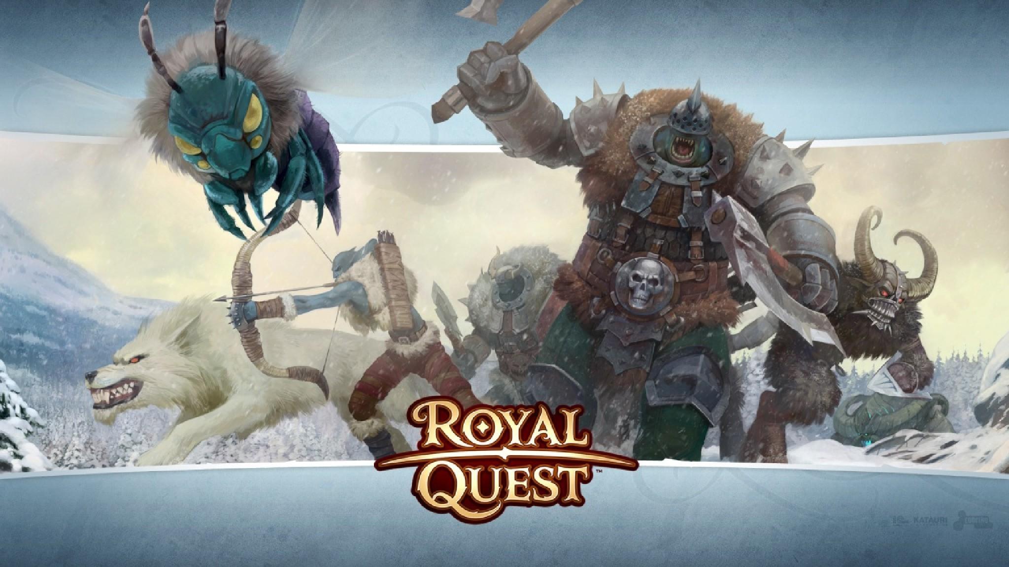 Royal Quest играть онлайн бесплатно