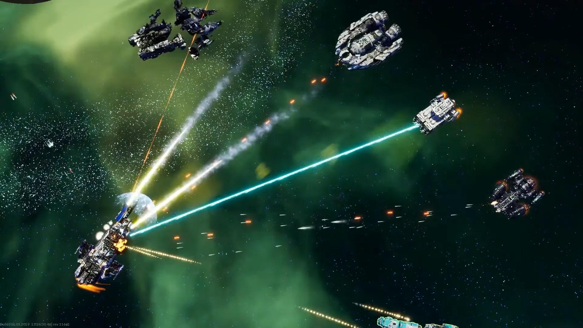 Геймплей Starfall Online.
